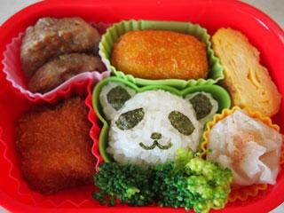 パンダのお弁当