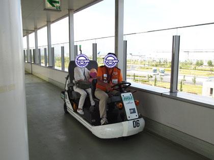 大きな空港ならではのサービス